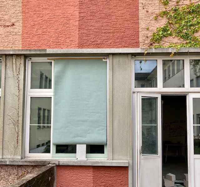 Bemusterung der Fassade
